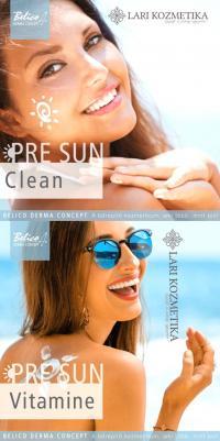 PRE SUN napozásra felkészítő kezelések a Lari Kozmetikában